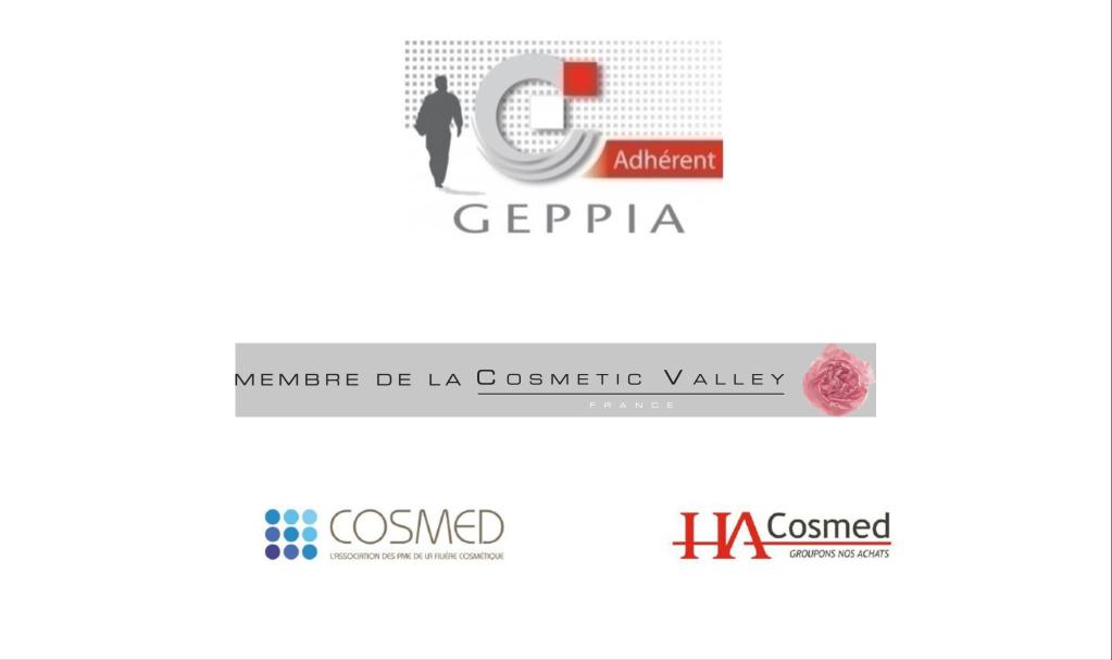 logos d'organisations de cosmétique